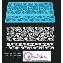 3d Hd Cake Lace Mat For Cake Decoration Daisy Wine Cake